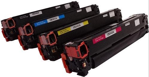 Serie di toner per HP 125A CB540A CB541A CB542A CB543A