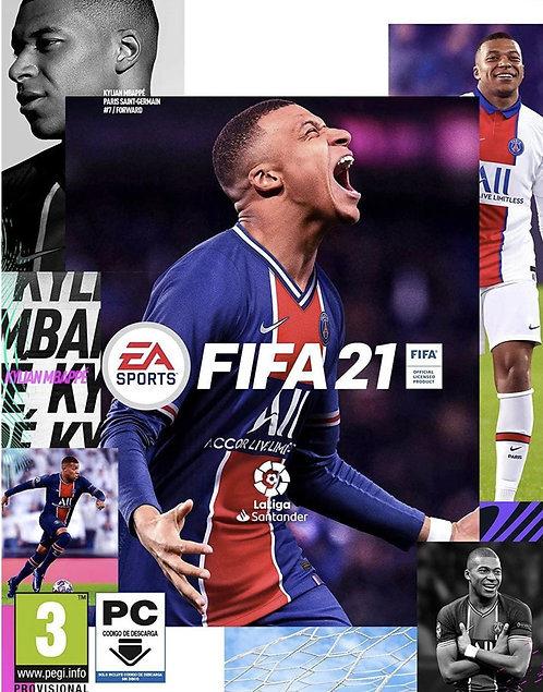 FIFA 21 Standard Edition PC EA Origin Digital game PC Windows