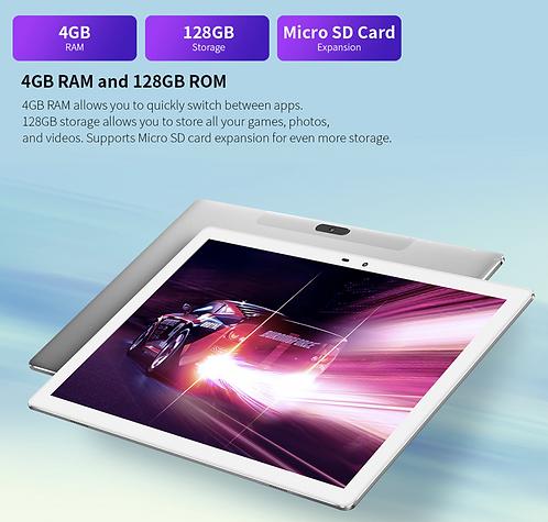 "Tablet PC 10"" M30 Pro Android 10.0, 4G: FDD-LTE,1920x1200 IPS 4GB RAM 128GB ROM"
