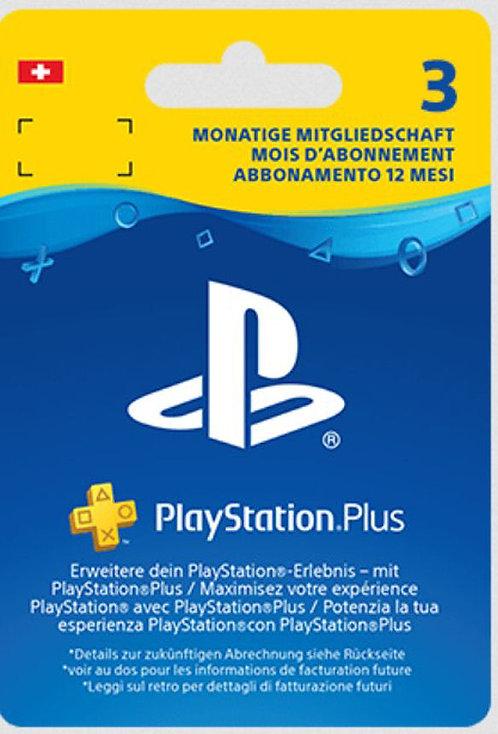 PlayStation®Plus: abbonamento di 3 mesi