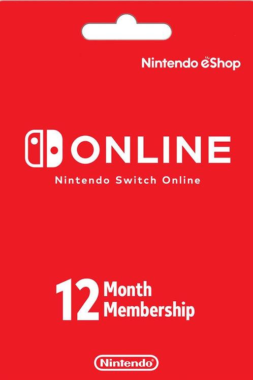 Nintendo Switch Online account Iscrizione individuale