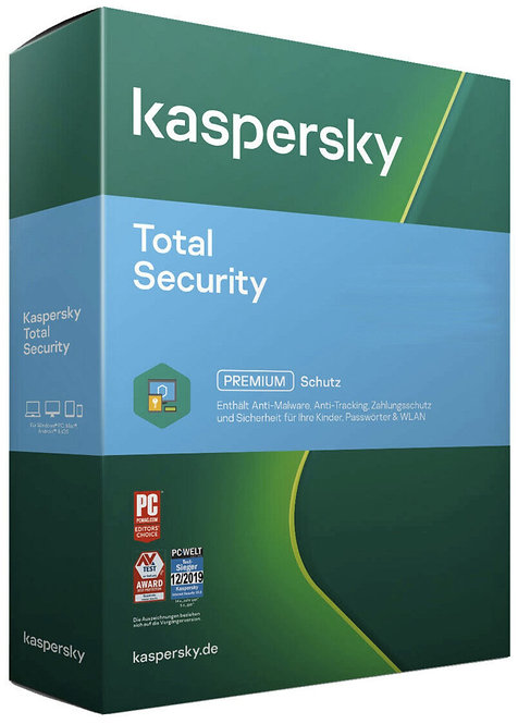 Kaspersky Total Security 2021   dispositivo   anno