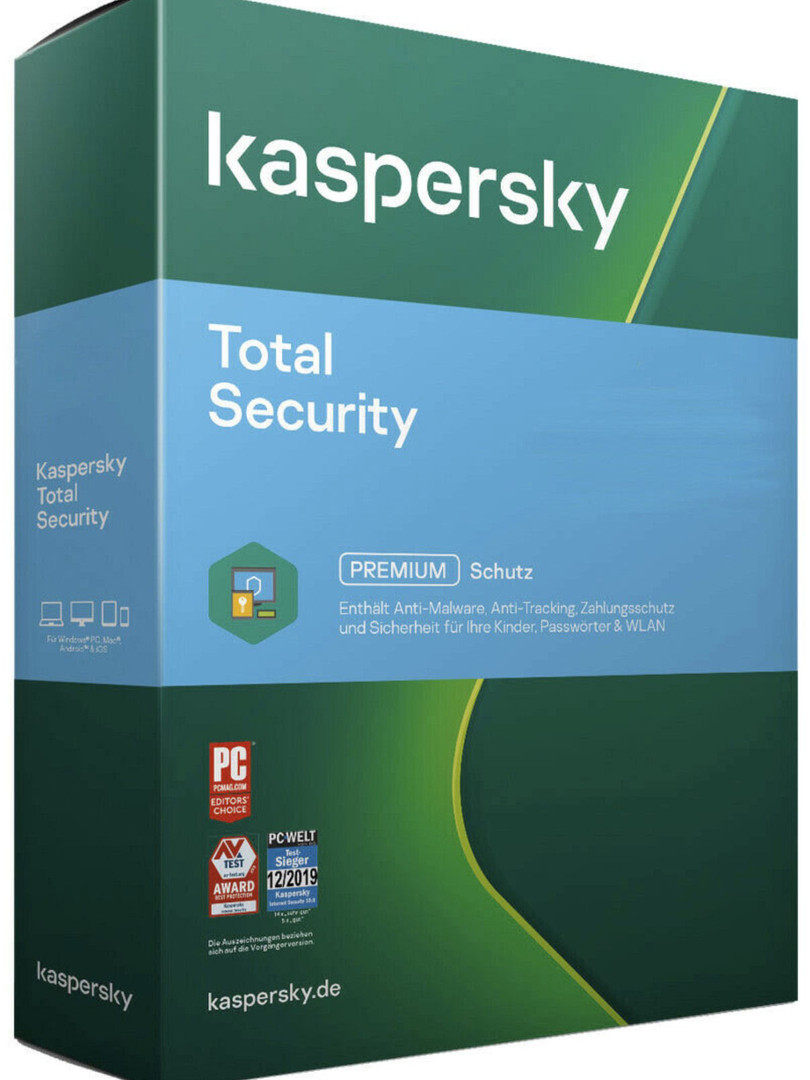 Kaspersky Total Security 2020 2021