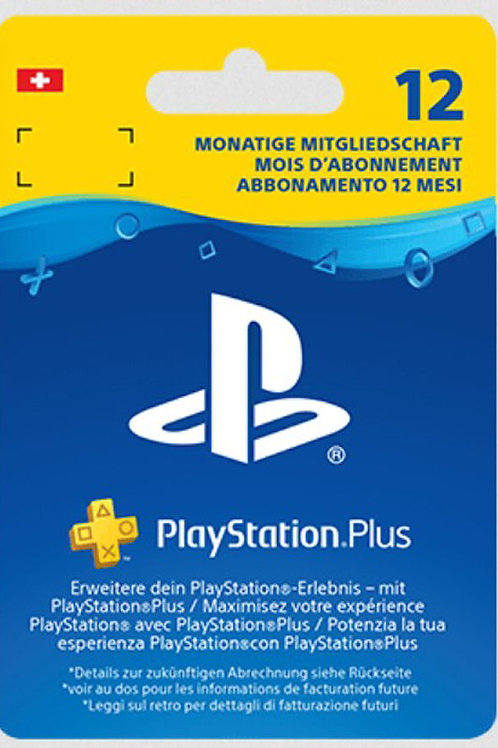 PlayStation®Plus: abbonamento di 12 mesi