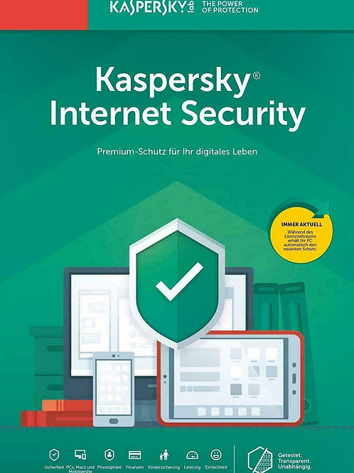 Kaspersky Internet Security 2020 2021, 1 dispositivo / 1 anno