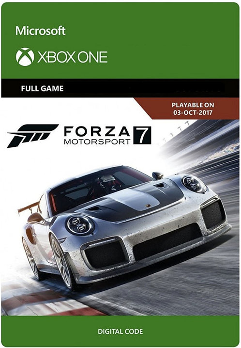 Forza Motorsport 7 Digital Code Xbox One