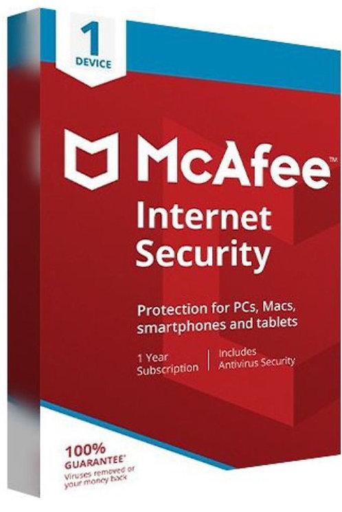 McAfee Internet Security 2021 | dispositivo | anno