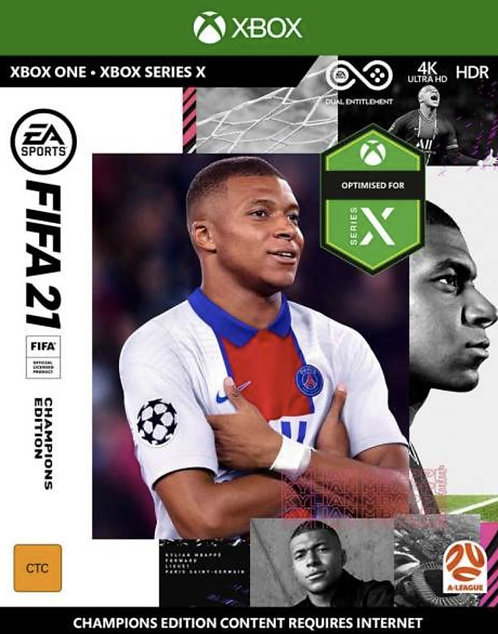 FIFA 21 Champions Edition EA Sports Digital Code Xbox One Xbox Series