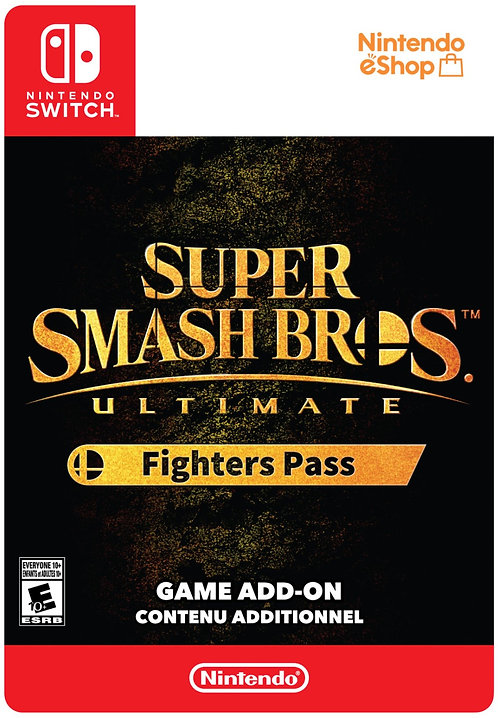 Super smash bros ultimate FIGHTERS Pass DLC Codice download per Nintendo Switch