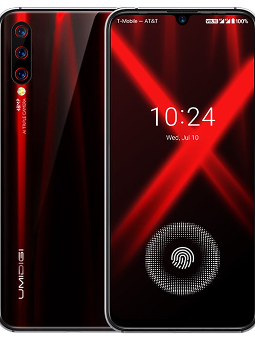 "UMIDIGI X Android 9, 6.35"" AMOLED, Helio P60, 4GB 128GB, 48MP Triple Camera"