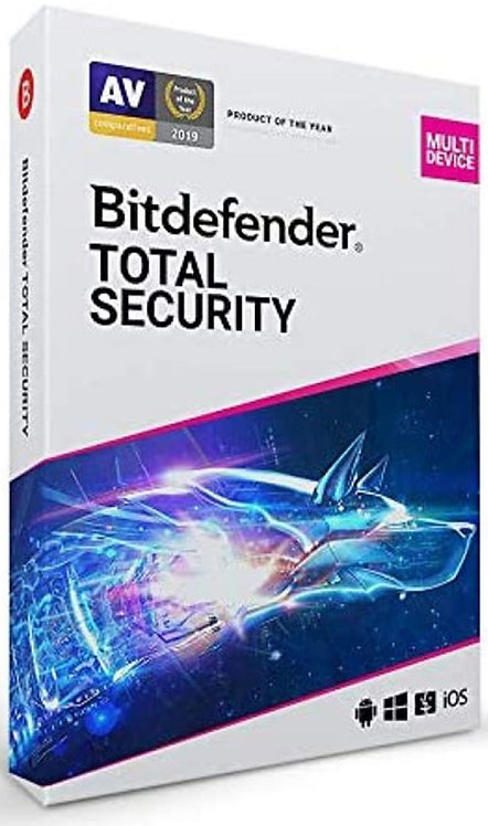 Bitdefender Total Security 2021 | dispositivo | anno