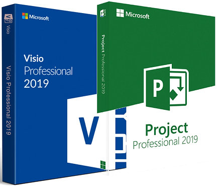 Microsoft Visio e Project 2019 Professional Plus