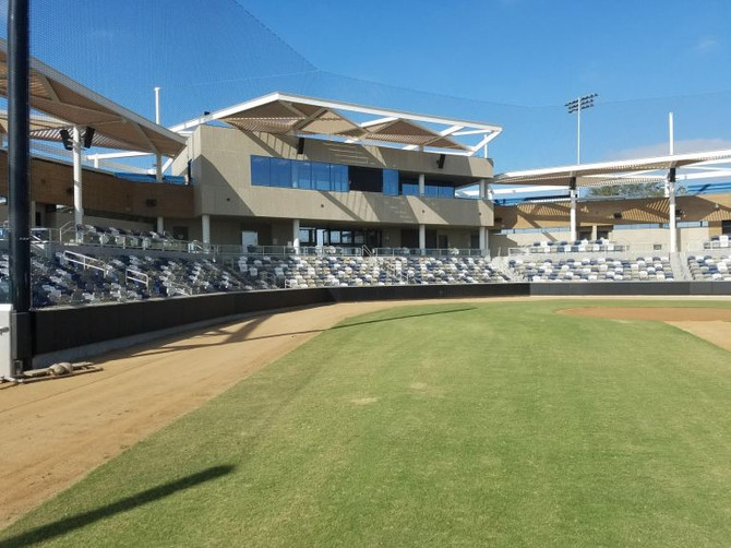 First games to be played at new Great Park baseball stadium
