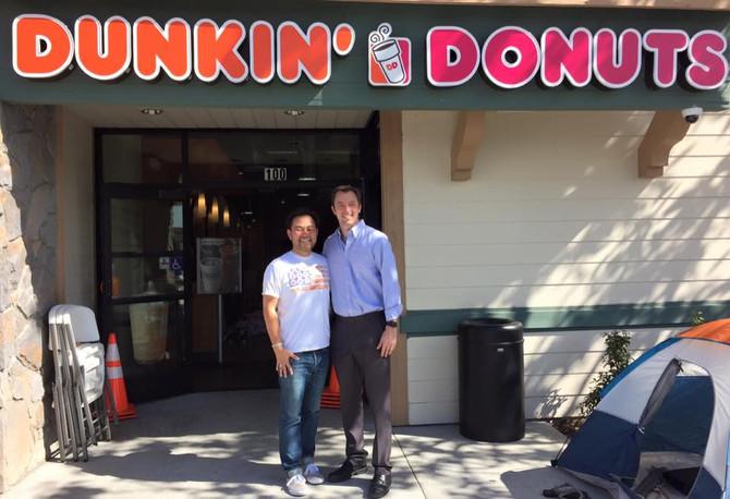 National Donut Day in Irvine!