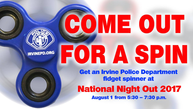 National Night Out with the Irvine Police