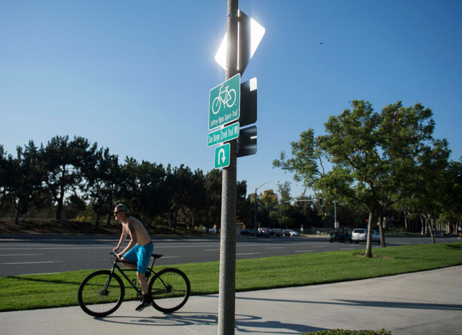 Jeffrey Open Space Trail extension beefs up Irvine bicycle network