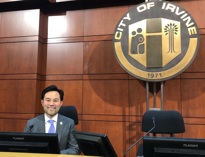 Anthony Kuo Appointed to Represent Irvine on Committees and Boards