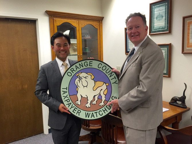 Anthony Kuo Endorsed by Orange County's Taxpayer Watchdog