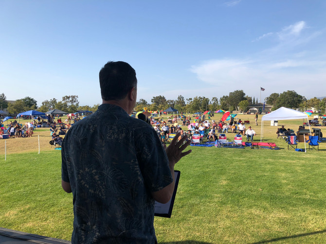 Kuo and Wagner Kick-Off Irvine's Summer Concert Series