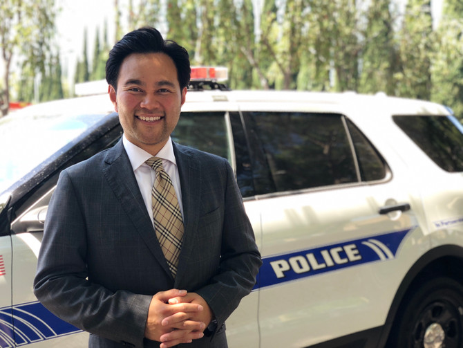 Irvine's Police Back Anthony Kuo for Council