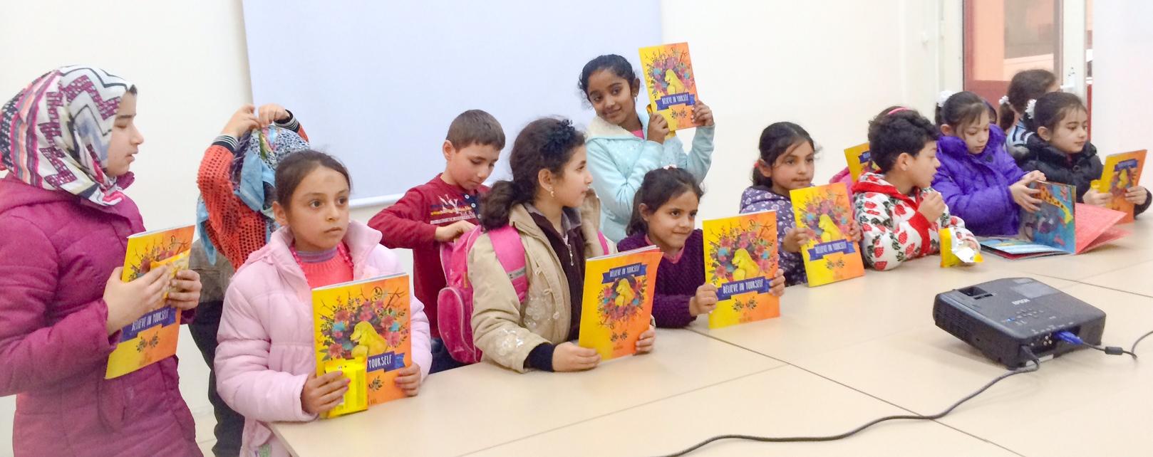 Booklaunchto_SyrianRefugeechildren_Istanbul