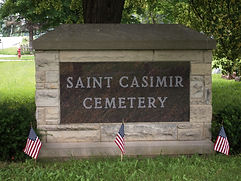 St.Casimir Cemetery sign.JPG