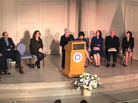 Representative Kay Khan Speaks at the District Attorney Marian Ryan's Swearing In Ceremony