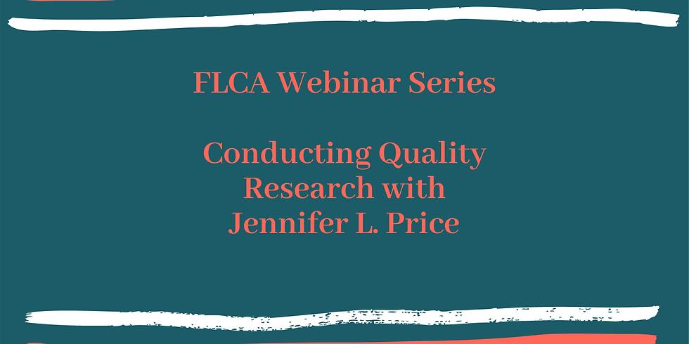 Webinar: Conducting Quality Research