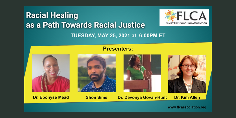 Racial Healing as a Path Towards Racial Justice