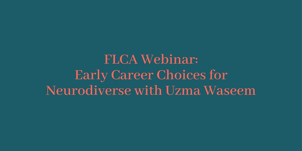 Webinar: Early Career Choices for Neurodiverse