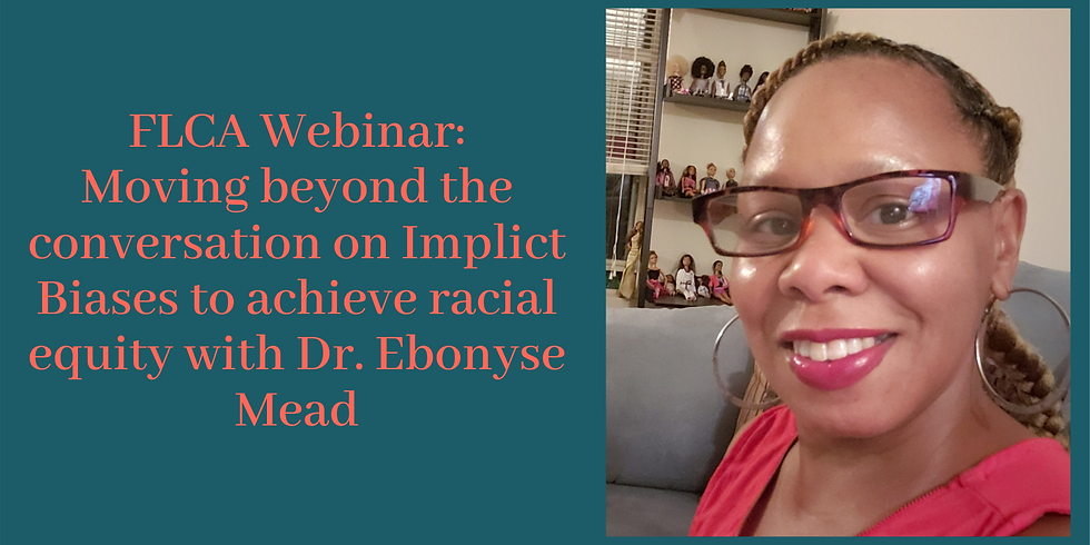 Webinar: Moving beyond the conversation on Implicit Biases to achieve racial equity