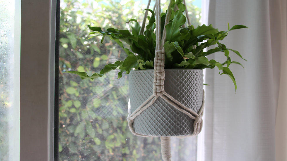 Cotton Cord Plant Hanger (Long)