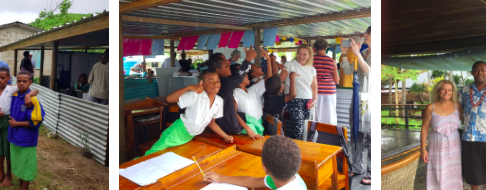 Visit to Yasawa Islands school, Village house purchase and Vinaka Volunteering Beach Cleanup funding