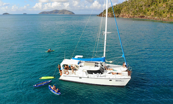 WHITSUNDAY SAIL & STAY
