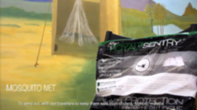 Charity Work Mosquito Nets