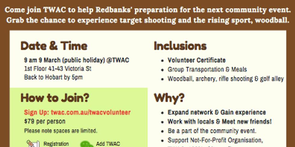 Redbanks Outdoor Volunteer