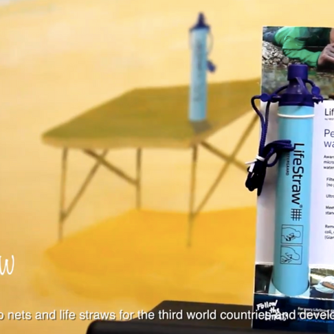 Life Straws & Mosquito Net   TWAC's on-going charity project