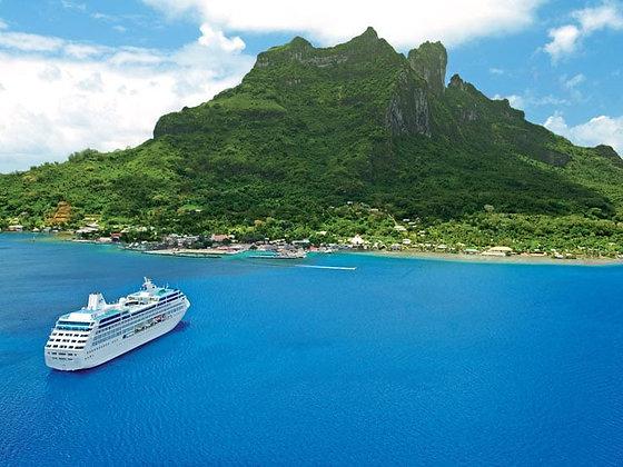HAWAII, TAHITI & SOUTH PACIFIC CROSSING 2022