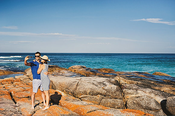 BAY OF FIRES AND TASMANIA