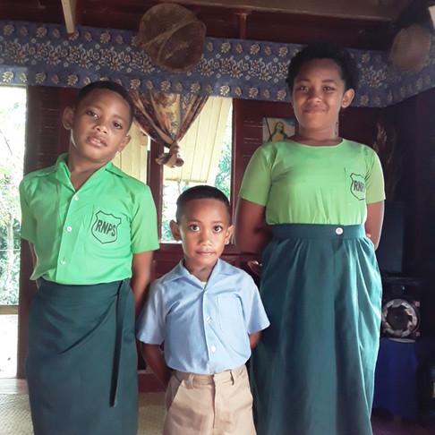 TWAC Sponsored Fijian Children To Go To School