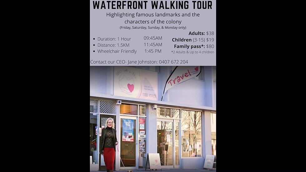 WATERFRONT WALKING TOUR