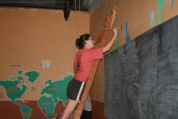 Construction Volunteers Bali