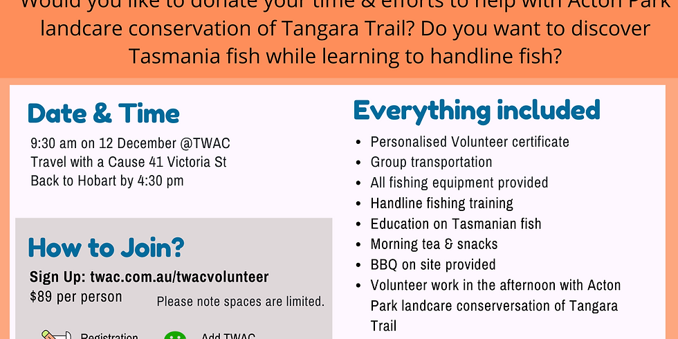 Introductory Fishing Volunteer Tour