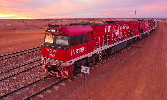 THE GHAN & RED CENTRE