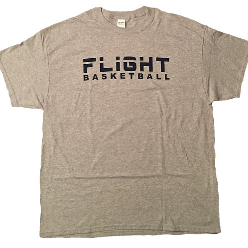 Flight Basketball T-Shirt (Gray)