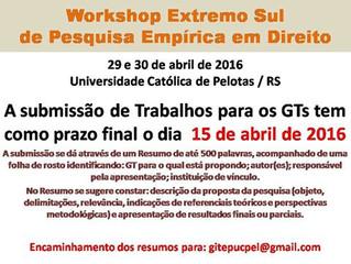 Lepif apresenta trabalhos no Workshop Extremo Sul de Pesquisa Empírica em Direito