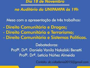 Lepif promove Ciclo de Debates sobre Relações Internacionais e Cidadania