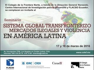 Lepif participa de Seminário sobre Fronteiras no México