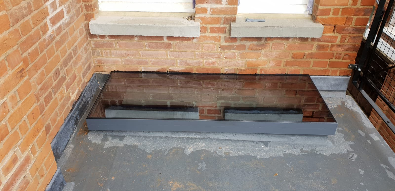 Frameless Flat Rooflight