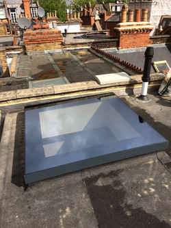 Frameless Flat Rooflights
